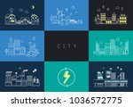 illustration of building | Shutterstock . vector #1036572775