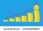 vector of business concept with ... | Shutterstock .eps vector #1036580884