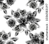 abstract elegance seamless... | Shutterstock . vector #1036583197