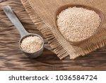 Stock photo white quinoa seeds chenopodium quinoa 1036584724