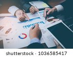 corporate meetings  business... | Shutterstock . vector #1036585417