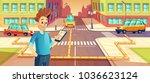 vector illustration of car... | Shutterstock .eps vector #1036623124