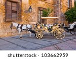 Traditional Horse And Cart At...