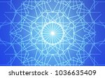 light blue vector natural... | Shutterstock .eps vector #1036635409