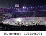 pyeongchang  south korea  ... | Shutterstock . vector #1036646071