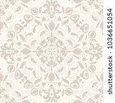 seamless turkish pattern.... | Shutterstock .eps vector #1036651054