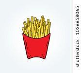 hand drawn vector illustration...   Shutterstock .eps vector #1036658065