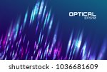 stripe abstract background.... | Shutterstock .eps vector #1036681609