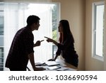 people working man and woman in ...   Shutterstock . vector #1036690594