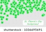 st. patrick s day background.... | Shutterstock .eps vector #1036695691