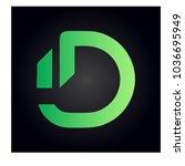 logo letter d | Shutterstock .eps vector #1036695949