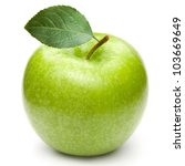 Green Apples Isolated On A...