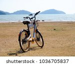 city bikes rent parking in... | Shutterstock . vector #1036705837