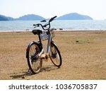 city bikes rent parking in... | Shutterstock . vector #1036705837