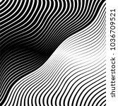 abstract warped diagonal... | Shutterstock .eps vector #1036709521