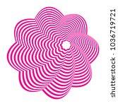 graphics design geometric... | Shutterstock .eps vector #1036719721