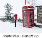 Red Phone Box And Pillar Box I...