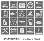 the automotive service. square  ... | Shutterstock .eps vector #1036737631