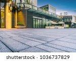 exterior of modern architecture ... | Shutterstock . vector #1036737829