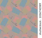vector seamless pattern....   Shutterstock .eps vector #1036740589
