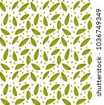 floral elements  pattern...   Shutterstock .eps vector #1036749349