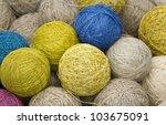 Balls Of Yarn From Natural...