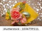 gift composition for easter... | Shutterstock . vector #1036759111