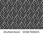 abstract geometric pattern with ... | Shutterstock .eps vector #1036760641