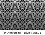 floral pattern. vintage... | Shutterstock .eps vector #1036760671