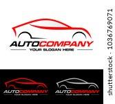car logo vector illustration.... | Shutterstock .eps vector #1036769071