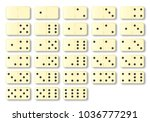 a complete set of ivory...   Shutterstock . vector #1036777291