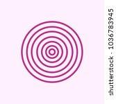 onion symbol vector. free space ...