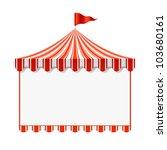 circus advertisement background....   Shutterstock .eps vector #103680161