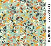 midcentury geometric retro... | Shutterstock .eps vector #1036848151