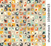 midcentury geometric retro... | Shutterstock .eps vector #1036848415