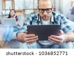 favorite moment. attractive...   Shutterstock . vector #1036852771