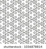 seamless vector pattern in... | Shutterstock .eps vector #1036878814