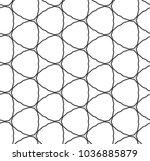 seamless geometric ornamental... | Shutterstock .eps vector #1036885879