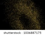 gold glitter texture isolated... | Shutterstock .eps vector #1036887175