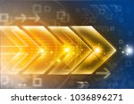 abstract arrow background  | Shutterstock . vector #1036896271
