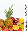 fresh tropical fruits | Shutterstock . vector #103690001