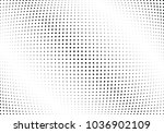 abstract halftone wave dotted... | Shutterstock .eps vector #1036902109