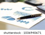 financial and business color... | Shutterstock . vector #1036940671