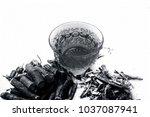 ayurvedic herb liquorice root... | Shutterstock . vector #1037087941