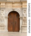 Gate Of The Royal Chapel In Th...