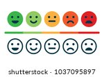 rating satisfaction. feedback... | Shutterstock .eps vector #1037095897