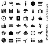 flat vector icon set   mixer...