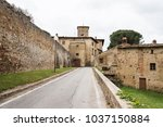 view of the old village of... | Shutterstock . vector #1037150884