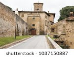 view of the old village of... | Shutterstock . vector #1037150887