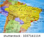 Brazil South America Represented Colorful - Fine Art prints